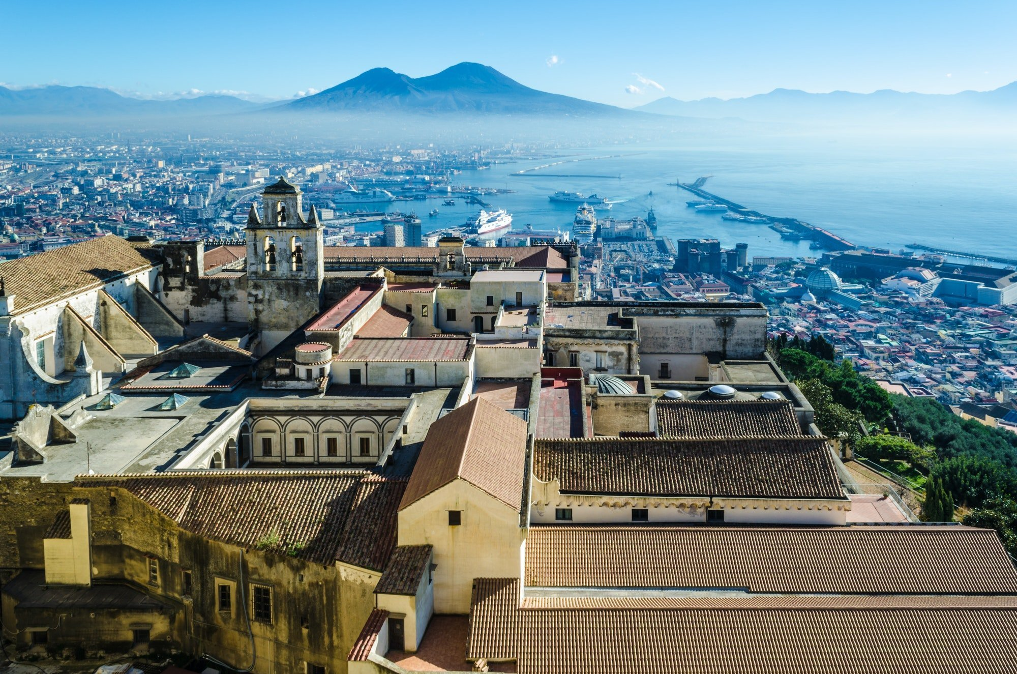 View of Naples from Castel Sant'Elmo