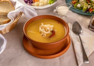 Delicious tripe soup