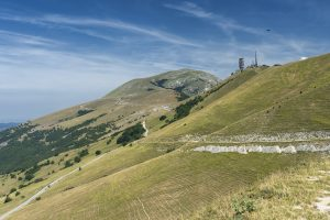 Landscape near Monte Cucco, Marches and Umbria, Italy