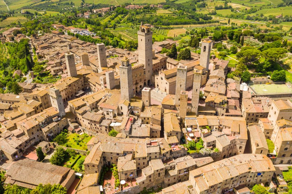 San Gimignano, Tuscany Region