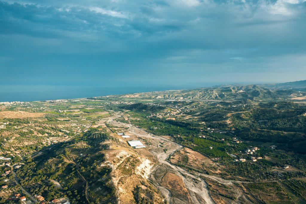 Calabria land