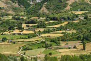 Landscape near Mormanno, Calabria