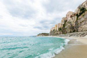 Tropea town and beach